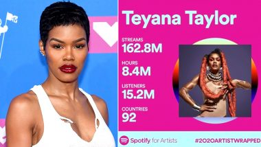 Teyana Taylor Is Amazed by Her Spotify Wrapped 2020 Statistics; Singer Announces Retirement by Leaving a Heartfelt Note for Fans