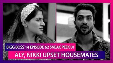 Bigg Boss 14 Episode 62 Sneak Peek 01 | Dec 28 2020: Aly, Nikki Gets Housemates Punished