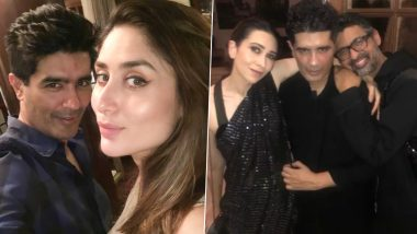 Manish Malhotra Birthday: Kareena Kapoor Khan and Sis Karisma Kapoor Extend Birthday Greetings to Their 'Forever Friend'