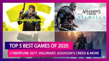 Year Ender 2020: From Cyberpunk 2077 to Valorant, Here Are the Top 5 Best Games of This Year