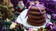 Christmas 2020 Delicious Dessert Recipes: Rum & Raisin Cake, Cookies, Pudding, & More, These 7 Sweet Treats Will 'Bake' You Happy (Watch Videos)