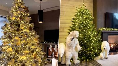 Kylie Jenner Flaunts Lavish Christmas 2020 Decorations! Polar Bears, Massive Xmas Tree & More, KUWTK Star Transforms Her House Into a Winter Wonderland (See Pics)