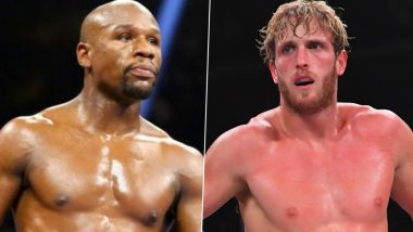 Floyd Mayweather vs Logan Paul! American Boxer to Return to Ring Against YouTuber in Exhibition Match Next Year