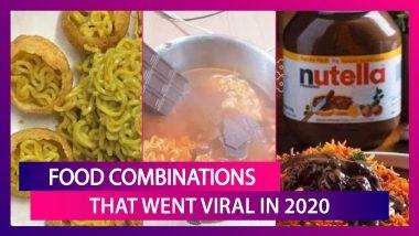 Food Combinations That Went Viral In 2020: Dalgona Coffee, Pani Puri Maggi, Nutella Biryani, Kiwi Pizza & More
