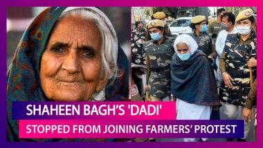 Bilkis Bano, Shaheen Bagh Protests 'Dadi' Attempts To Join Farmers' Protest At Singhu Border, Sent Back By Police