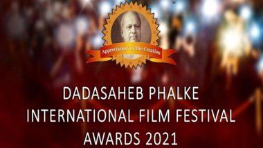 Dadasaheb Phalke International Film Festival Awards to Be Held on February 20, 2021