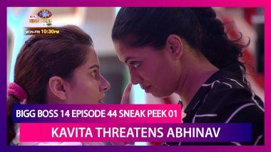 Bigg Boss 14 Episode 44 Sneak Peek 01   Dec 2 2020: Kavita Threatens Abhinav, Rubina