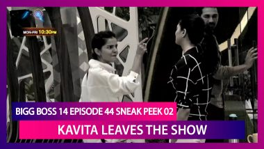 Bigg Boss 14 Episode 44 Sneak Peek 02 | Dec 2 2020: Kavita Leaves Bigg Boss House