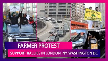 Farmer Protest Support Rallies In London, New York, San Francisco And Toronto