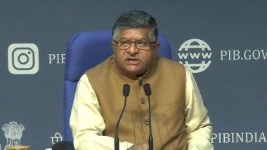 WhatsApp New Privacy Policy: 'Govt Looking Into Privacy Policy Changes of the Facebook-Owned Messaging App', Says IT Minister Ravi Shankar Prasad