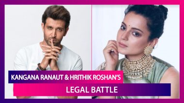 Kangana Ranaut And Hrithik Roshan's Legal Battle: A Brief History As The Fight Doesn't Seem To End Anytime Soon