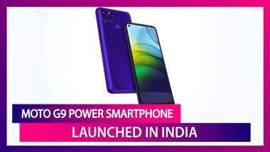 Moto G9 Power with Triple Rear Cameras Launched in India; Prices, Variants, Features & Specifications