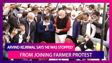Arvind Kejriwal Says 'He Was Stopped' From Meeting Farmers; Amit Shah-Farmer Union Talks Fail