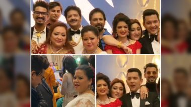 Aditya Narayan - Shweta Agarwal Wedding Reception: Bharti Singh, Haarsh Limbachiyaa, Govinda Among the Many Attendees (View Pics)