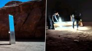 Not Aliens, but 4 Men Are Behind the Mysterious Disappearance of Utah Monolith! Pics & Videos of Humans Dismantling the Shiny Structure Go Viral