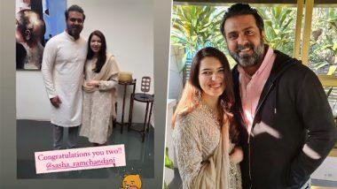 Harman Baweja Gets Engaged to Sasha Ramchandani, View Roka Ceremony Photo