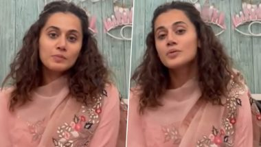 Taapsee Pannu Can't Stop Praising Kirti Kulhari's Criminal Justice, Actress Wonders Why There Is No Law on Marital Rape in India (Watch Video)
