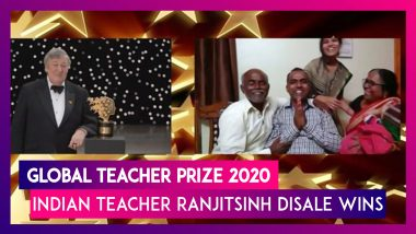 Global Teacher Prize 2020: Ranjitsinh Disale Wins The Title; Know More About The Indian School Teacher Who Promoted Girls' Education