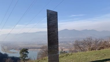 Monolith Mysteriously APPEARS in Romania After Unexplained Metal Structure Disappeared From Utah! Is It the Same? Conspiracy Theories & Reactions Emerge Online