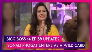 Bigg Boss 14 Episode 58 Updates | Dec 22 2020: Sonali Phogat Enters As A Wild Card Contestant