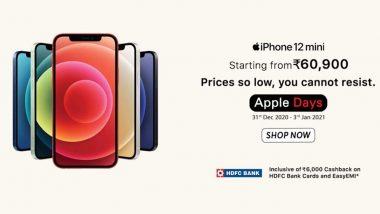 Apple Days Sale on Vijay Sales: Get iPhone 12 Mini From Rs 66,900; iPhone 12, iPhone 12 Pro, iPhone 12 Pro Max at Amazing Discounts