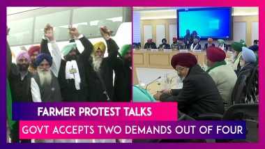 Farmer Protest Talks: Government Accepts Two Demands Of Farmers Out Of Four, Next Meeting On January 4