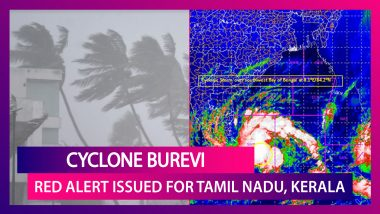 Cyclone Burevi: Orange & Red Alerts Issued For Tamil Nadu, Kerala; Track Storm Path & Wind Speed