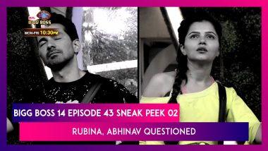 Bigg Boss 14 Episode 43 Sneak Peek 02   Dec 1 2020: Rubina, Abhinav Asked Personal Questions