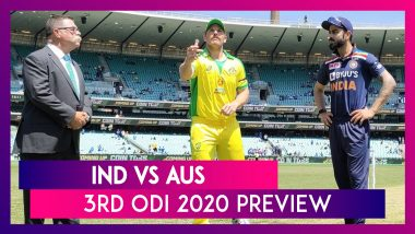 IND vs AUS 3rd ODI 2020 Preview & Playing XIs: India Face Australia to Avoid Whitewash