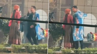 Atrangi Re: Akshay Kumar, Dhanush, Sara Ali Khan Dance on a Peppy Song in This Leaked Video From the Sets