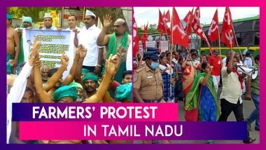 Farmers' Protest In Tamil Nadu: 'Protests Would Continue Unless Farm Laws Repealed' Says All India Farmers' Protest Coordination Committee