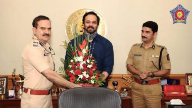 Mumbai Police Honours Rohit Shetty For His Help Of COVID-19 Frontline Workers, Calls Him 'The Asli Dilwale' (View Tweet)
