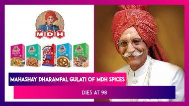 Mahashay Dharampal Gulati, Owner Of MDH Spices Dies At 98