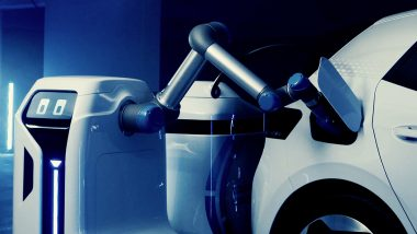 Volkswagen's Electric Car Charging Robot Showcased, Check Video Here