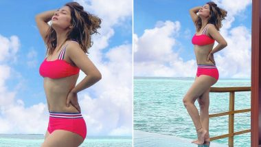 Nothing Much Just Hina Khan Looking Like a Bombshell in Her Bikini Picture from Maldives