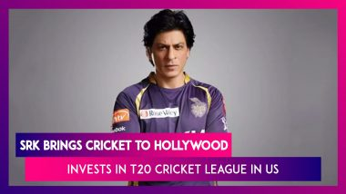 Shah Rukh Khan Buys Los Angeles Franchise Of T20 Cricket League In US, Names It LA Knight Riders