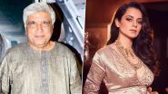 Kangana Ranaut Files Counter Complaint Against Javed Akhtar, Accuses Him of Extortion and Criminal Intimidation