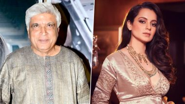 Mumbai Sessions Court Dismisses Kangana Ranaut's Plea Challenging Javed Akhtar's Defamation Case