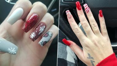 Christmas 2020 Nail Art Ideas: From Snow Flakes to Santa Claus, Festive Manicure Inspirations to Try out This Holiday Season
