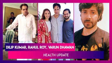 Dilip Kumar's Immunity Is Low, Not Too Well, Says Saira Banu; Rahul Roy Is Recovering; Varun Dhawan On COVID-19, Says 'Could Have Been More Careful'