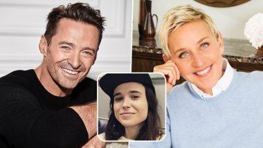 Hugh Jackman, Ellen DeGeneres Send Love to Elliot Page After He Comes Out As Transgender (View Tweets)