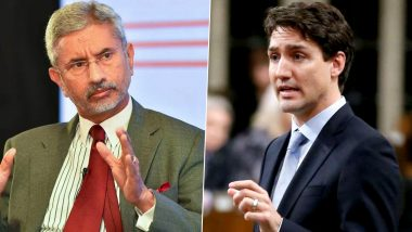 S Jaishankar to Skip Canada-Led Meeting on COVID-19 Days After Justin Trudeau's Comments on Farmers' Protest: Reports