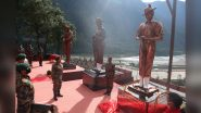 Arunachal Pradesh: Indian Army Unveils Statues of 1962 India-China War Heroes at Walong War Memorial