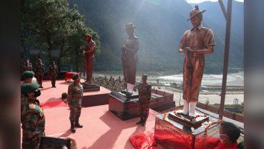 Arunachal Pradesh: Indian Army Unveils Statues of 1962 India-China War Heroes at Walong War Memorial