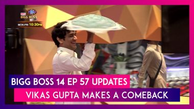 Bigg Boss 14 Episode 57 Updates | Dec 21 2020: Vikas Gupta Makes A Comeback