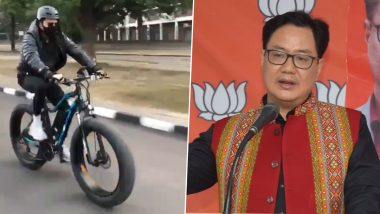 Anil Kapoor Impresses Sports Minister Kiren Rijiju by Sharing His Cycling Video (Read Tweet)