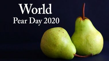 World Pear Day 2020: From Weight Loss to Lowering Risk of Diabetes, Here Are 5 Reasons to Have This Delicious Fruit