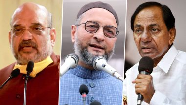 GHMC Election Results 2020: BJP Stuns With Win in 48 Seats of Hyderabad Civic Body, TRS Reduced to 55, AIMIM Retains 44