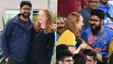 Dipen Mandaliya, Who Proposed to Girlfriend Rose Wimbush During IND vs AUS 2nd ODI At SCG, Shares Their Love Story