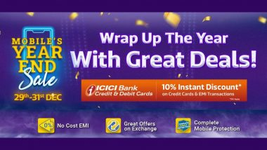 Flipkart Mobile's Year-End Sale 2020: Get iPhone SE at Rs 32,999; Amazing Discounts on iPhone XR, Galaxy F41, iPhone 11 Pro & Other Smartphones